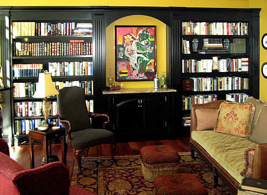 Andrew Smith Woodworking ~ Quality Custom Bookcases